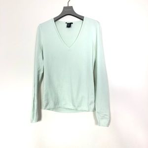 THEORY SWEATER LIGHT GREEN COLOUR SIZE s/p